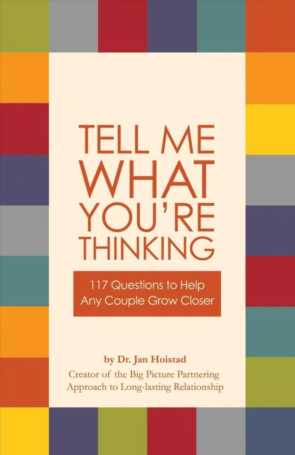 Tell Me What You're Thinking - Book Cover