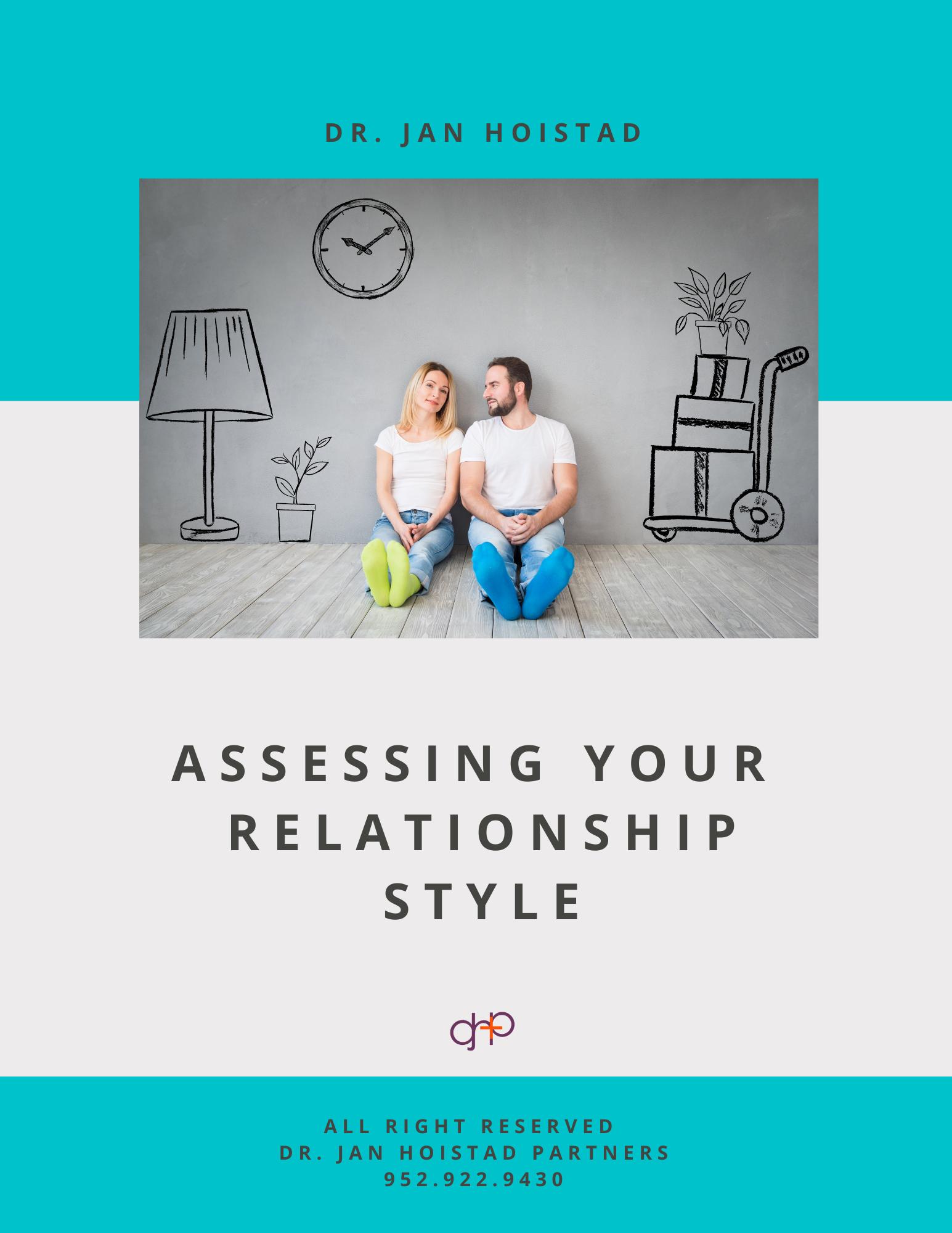 Dr Jan Hoistad - Assessing Relationship
