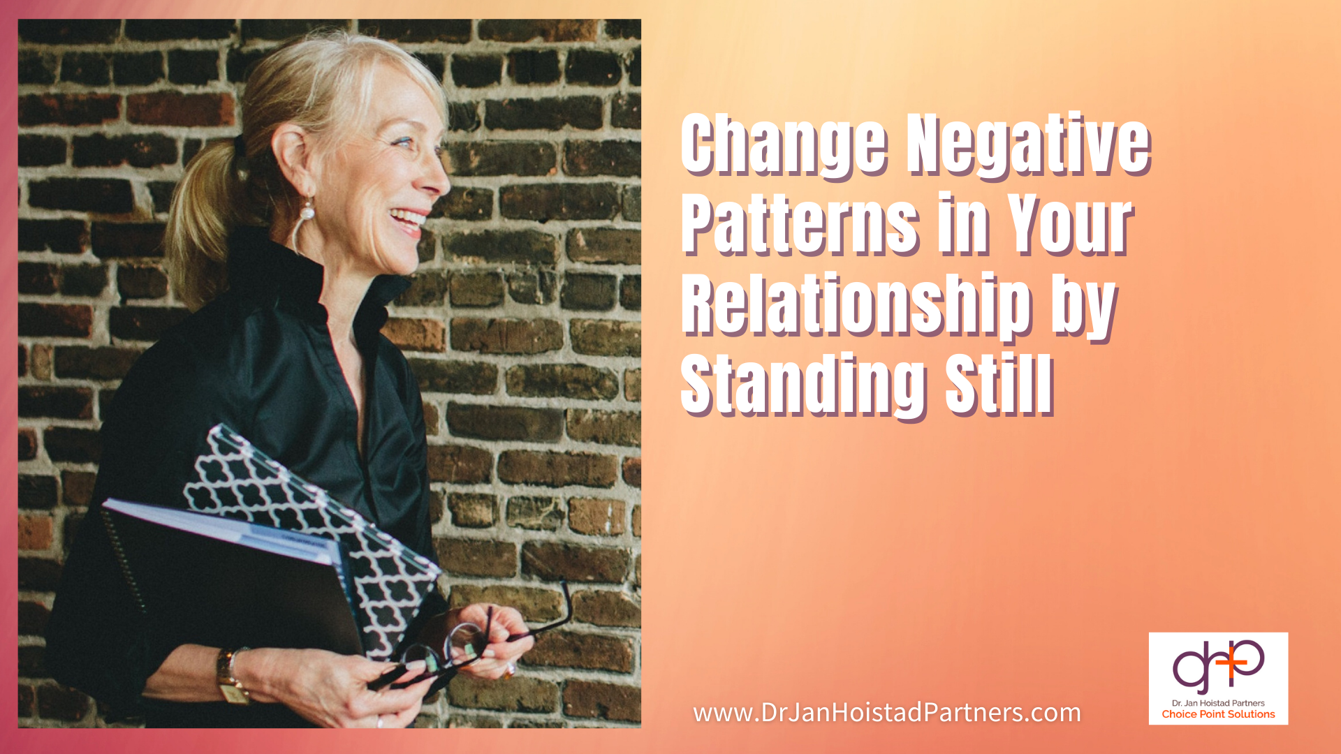 Changing Negative Patterns Standing Still - Video